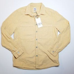 Zara Corduroy Over Shirt